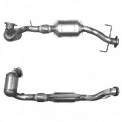 Catalyseur pour SAAB 9-5 2.0 16v Turbo (moteur : with pre-cat)