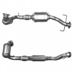 Catalyseur pour SAAB 9-5 2.3 16v Turbo (moteur : 248cv with pre-cat)