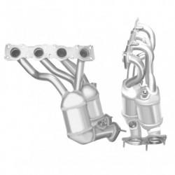 Catalyseur pour BMW 120i 2.0 E88 (moteur : N43B20A - catalyseur collecteur)