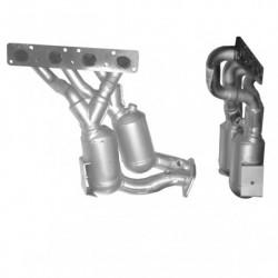 Catalyseur pour BMW 120i 2.0 E87 (moteur : N46)