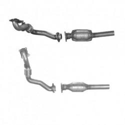 Catalyseur pour SEAT CORDOBA 1.9 TD AAZ (tuyau flexible et catalyseur)