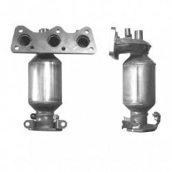 Catalyseur pour SKODA FABIA 1.2 6v Collecteur (moteur : BBM - CHFA)