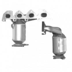 Catalyseur pour SKODA FABIA 1.4 16v (moteur : AUB - BBZ)