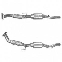 Catalyseur pour SKODA OCTAVIA 2.0 2WD (moteur : AEG - AZJ) tuyau flexible simple
