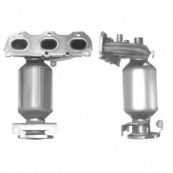 Catalyseur pour SKODA ROOMSTER 1.2 12v Collecteur (moteur : BZG)