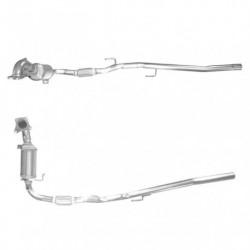 Catalyseur pour SKODA ROOMSTER 1.2 TSi (moteur : CBZA)