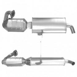 Catalyseur pour VOLKSWAGEN GOLF 2.3  Mk.4 20v V5 150cv (AGZ)