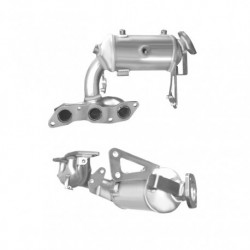 Catalyseur pour SMART FORTWO 1.0 (451.331) 12v Coupe (moteur : M132.910 - N° de chassis K348050 et suivants)
