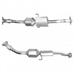 Catalyseur pour TOYOTA AURIS 1.4 D-4D (moteur : 1ND-TV) - Catalyseur situé sous le véhicule
