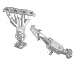 Catalyseur pour VOLKSWAGEN TRANSPORTER 2.5 AAF - ACU (50mm diamètre extérieur coté arrière)