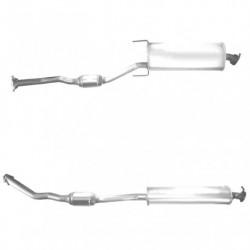 Catalyseur pour TOYOTA RAV4 2.2 D4-D (moteur : 2AD-FTV - Catalyseur situé sous le véhicule