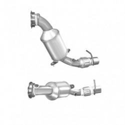 Catalyseur pour MERCEDES E320 3.2 TD (T210) CDi Turbo Diesel break (2ème catalyseur)