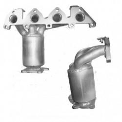 Catalyseur pour VOLKSWAGEN GOLF 1.4 Mk.4 16v Collecteur (moteur : BCA)