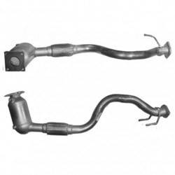 Catalyseur pour VOLKSWAGEN GOLF PLUS 1.6 FSi Auto (moteur : BLF - 1 er catalyseur - N° de chassis jusquà 1K_6_500000)