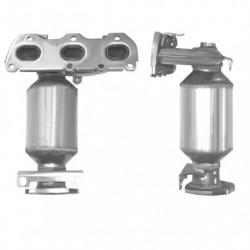 Catalyseur pour VOLKSWAGEN POLO 1.2 12v 64cv (moteur : AZQ à partir du N° de chassis 9N-3-058852)