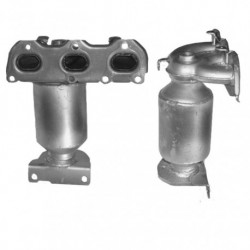 Catalyseur pour VOLKSWAGEN POLO 1.2 12v 64cv (moteur : AZQ N° de chassis jusquà 9N-3-058851)
