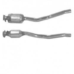 Catalyseur pour VOLVO 240 2.0 Joint rond coté tuyau flexible