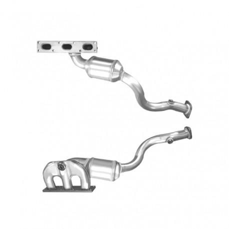 Catalyseur pour BMW 325xi 2.5 E46 véhicule avec volant à gauche (moteur : M54 - cylindres 1-3)