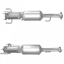 Filtre à particules (FAP) pour ALFA ROMEO 147 1.9 JTD (moteur : 192B1 - catalyseur et FAP combinés)