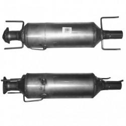 Filtre à particules (FAP) pour ALFA ROMEO 159 1.9 JTDM (moteur : 939A2)