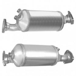 Filtre à particules (FAP) pour AUDI A4 2.0 TDi Quattro (moteur : BRD)