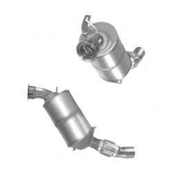 Filtre à particules (FAP) pour BMW 120d 2.0 E88 véhicule avec volant à gauche Décapotable (moteur : N47 - EU4)