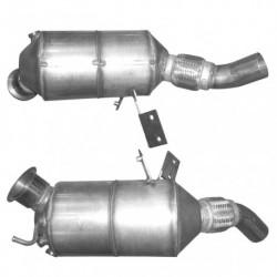Filtre à particules (FAP) pour BMW 120d 2.0 E87 (moteur : M47N2)