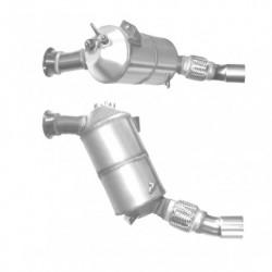 Filtre à particules (FAP) pour BMW 123d 2.0 E82 (moteur : N47S - EU4 catalyseur et FAP combinés)