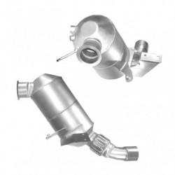 Filtre à particules (FAP) pour BMW 318d 2.0 E91 (moteur : M47N2 - catalyseur et FAP combinés)
