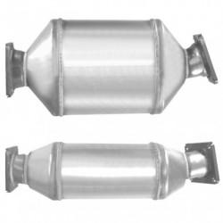 Filtre à particules (FAP) pour BMW 525d 2.5 E61 Turbo Diesel (moteur : M57N)