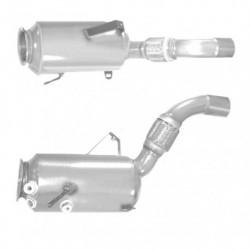 Filtre à particules (FAP) pour BMW 530xd 3.0 E61 Touring (moteur : M57N2 - catalyseur et FAP combinés)