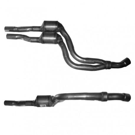 Catalyseur pour BMW 330d 2.9 E46 Turbo Diesel (moteur : M57 - Catalyseur situé sous le véhicule