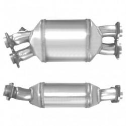 Filtre à particules (FAP) pour BMW 535d 3.0 E61 Touring (moteur : M57)