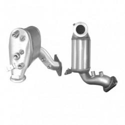 Filtre à particules (FAP) pour CHRYSLER JEEP COMPASS 2.0 CRD Turbo Diesel (moteur : ECE)