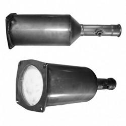 Filtre à particules (FAP) pour CITROEN C5 2.0 Mk.3 HDi (moteur : RHF (moteur : DW10BTED4))