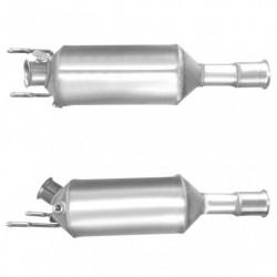 Filtre à particules (FAP) pour CITROEN C-CROSSER 2.2 HDi (moteur : DW12MTED4 - DW12ME5) FAP seul
