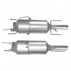 Filtre à particules (FAP) pour FIAT CROMA 2.4 JTD (moteur : 939A3)