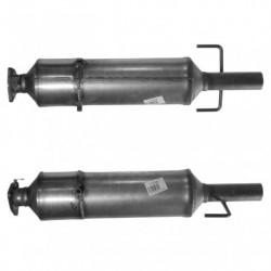 Filtre à particules (FAP) pour FIAT DOBLO 1.9 JTD (moteur : 186A9)