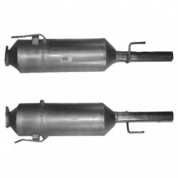 Filtre à particules (FAP) pour FIAT MULTIPLA 1.9 JTD (moteur : 186A9)