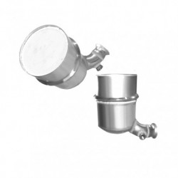 Filtre à particules (FAP) pour FIAT SCUDO 1.6 MJTD (moteur : 9H07 - 9HM (moteur : DV6UC)) FAP seul