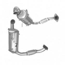 Filtre à particules (FAP) pour FORD C-MAX 1.6 TDCi (moteur : T1DA - T1DB)