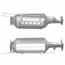 Filtre à particules (FAP) pour FORD FOCUS 2.0 Mk.2 TDCi (moteur : G6DE - G6DF - version avec additif)