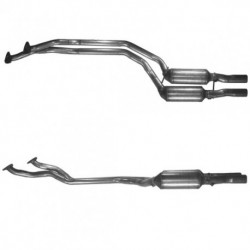 Catalyseur pour BMW 520i 2.0 E39 (moteur : M52 - Avec OBD)