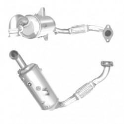 Filtre à particules (FAP) pour FORD MONDEO 1.6 Mk.4 TDCi (moteur : T1BA - catalyseur et FAP combinés)