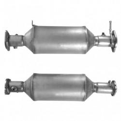Filtre à particules (FAP) pour FORD MONDEO 2.2 Mk.3 TDCi (moteur : QJBA - QJBB)