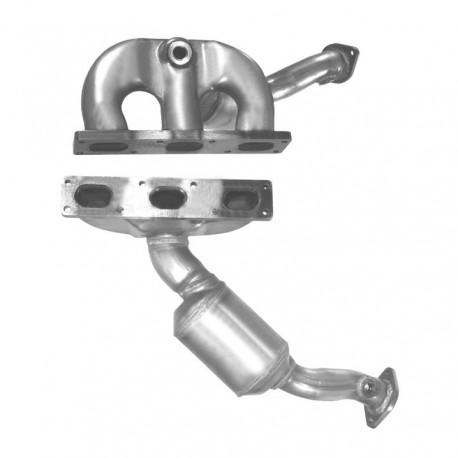 Catalyseur pour BMW 523i 2.5 E39 (moteur : M52 - catalyseur collecteur - cylindres 1-3)