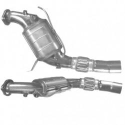 Catalyseur pour BMW 525d 2.5 E61 Touring (pour véhicules avec FAPl - M57N)