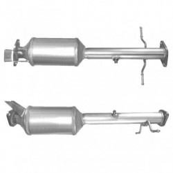 Filtre à particules (FAP) pour FORD TOURNEO CONNECT 1.8 TDCi (moteur : HCPA/B - P9PA/B/C/D - R3PA - RWPE/F)