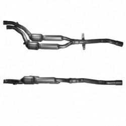 Catalyseur pour BMW 525d 2.5 E39 Turbo Diesel (2ème catalyseur)