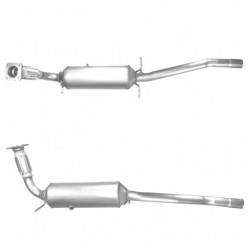 Filtre à particules (FAP) pour FORD TRANSIT 2.2 TDCi (moteur : SRFA - SRFB - SRFC - SRFD - SRFE - pour véhicules avec FAP)